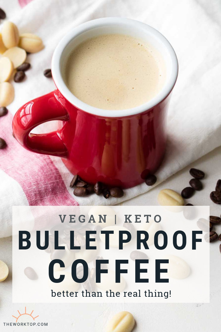 Vegan Bulletproof Coffee Recipe | The Worktop