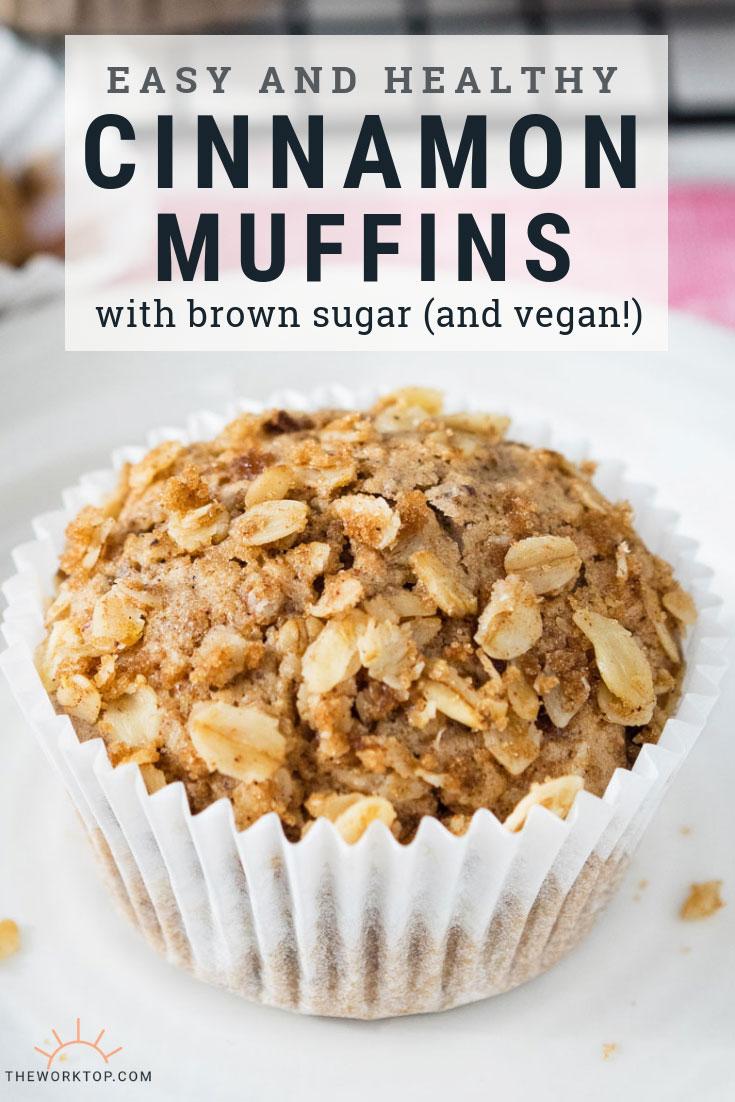 Vegan Cinnamon Breakfast Muffin Recipe | The Worktop
