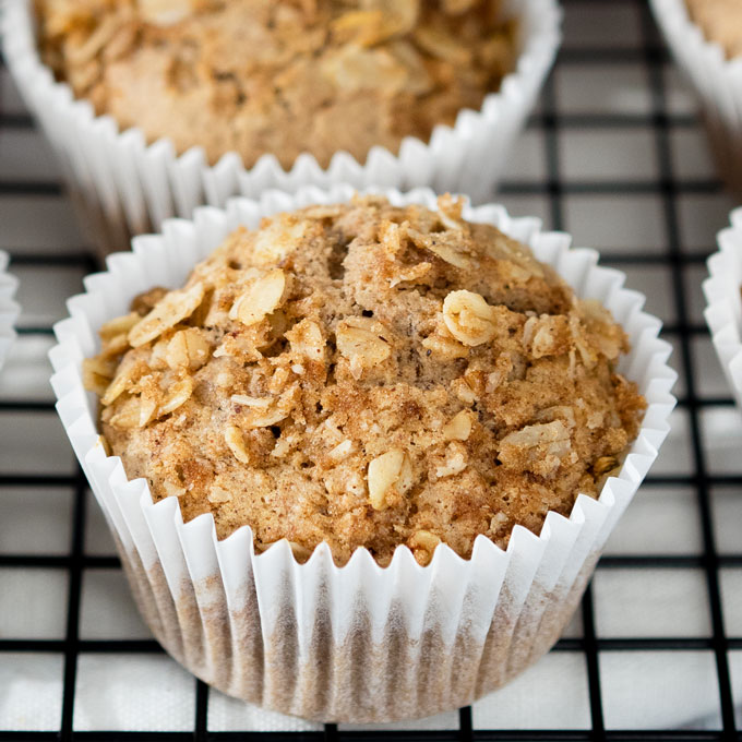 Vegan Cinnamon Breakfast Muffins Easy And Healthy The Worktop
