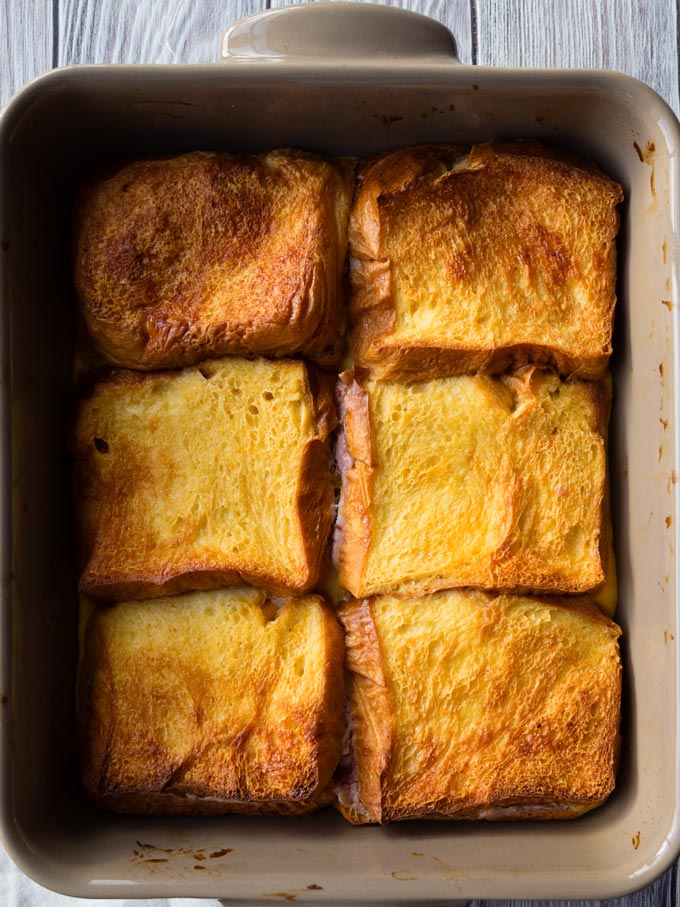 Baked Stuffed French Toast Casserole for Christmas Morning | The Worktop