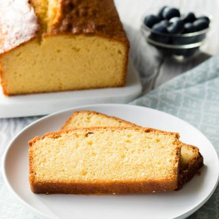 Easy Pound Cake from Scratch | The Worktop
