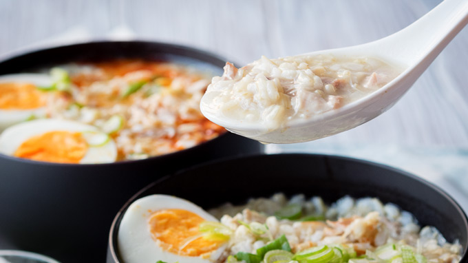 Instant Pot Chicken Congee | The Worktop