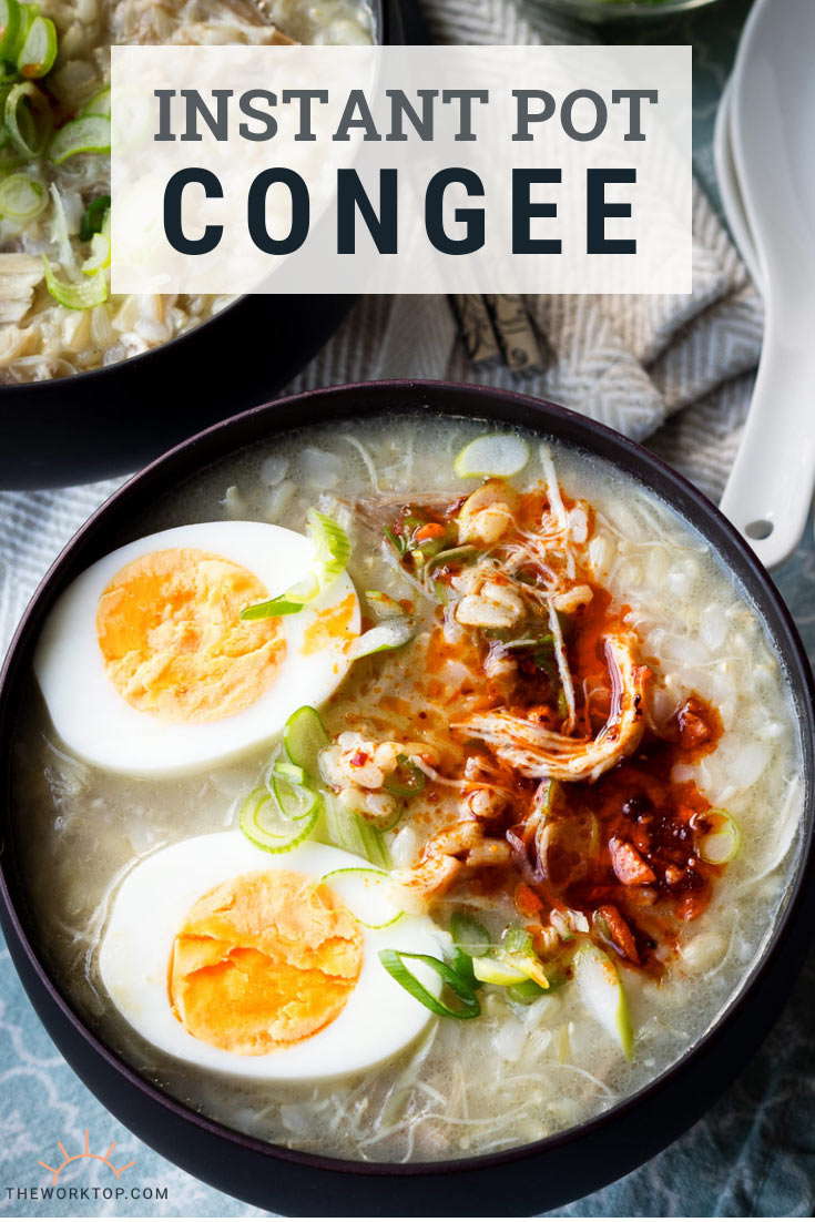 Instant Pot Congee Recipe | The Worktop