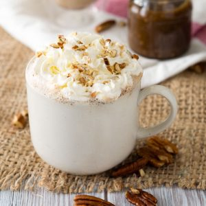 Maple Pecan Latte - Fall Coffee Recipe | The Worktop