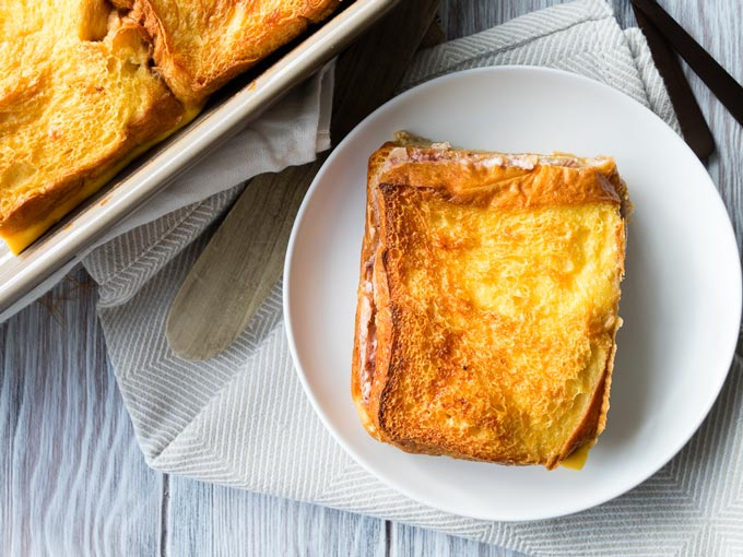 Overnight Stuffed French Toast Baked | The Worktop