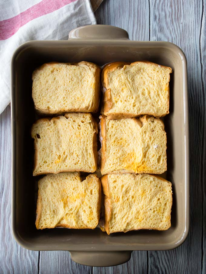 Overnight Stuffed French Toast Casserole | The Worktop