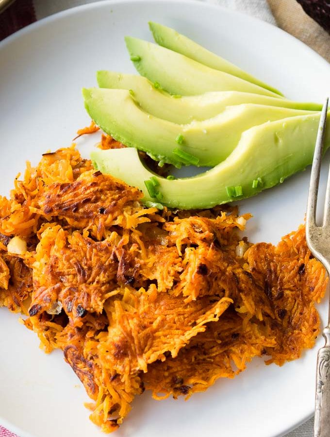 Sweet Potato Hash Browns | The Worktop