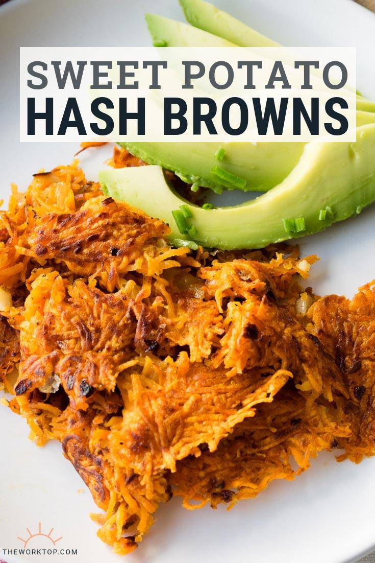 Sweet Potato Hash Browns Recipe | The Worktop