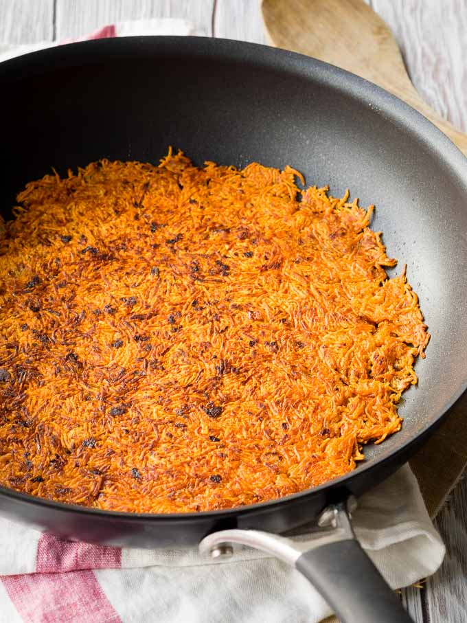Sweet Potato Rosti Hash Browns | The Worktop