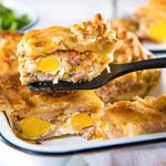 Bacon and Egg Pie | New Years Brunch Ideas | The Worktop