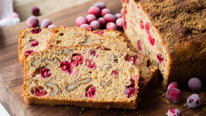 Cranberry Nut Bread Recipe - Moist | The Worktop