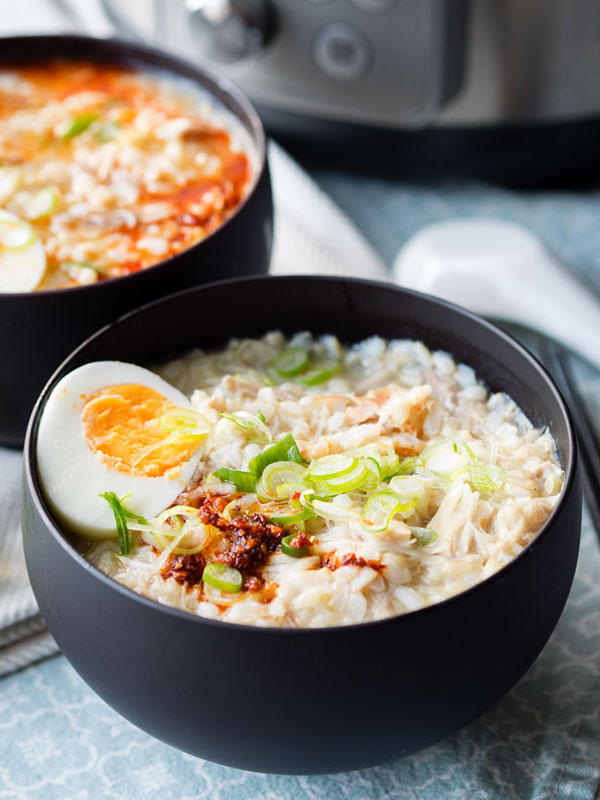 Instant Pot Chicken Congee | Eczema Friendly Recipes