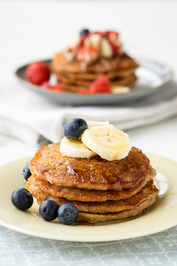 Vegan Banana Pancakes | Eczema Friendly Recipes
