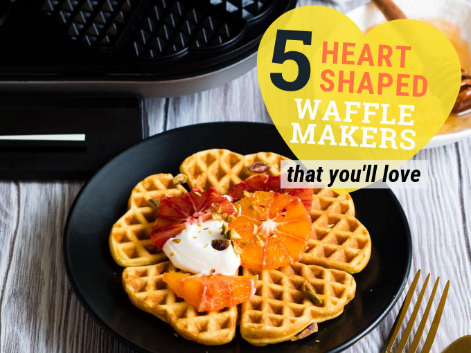 5 Best Heart Shaped Waffle Makers (Reviews) | The Worktop