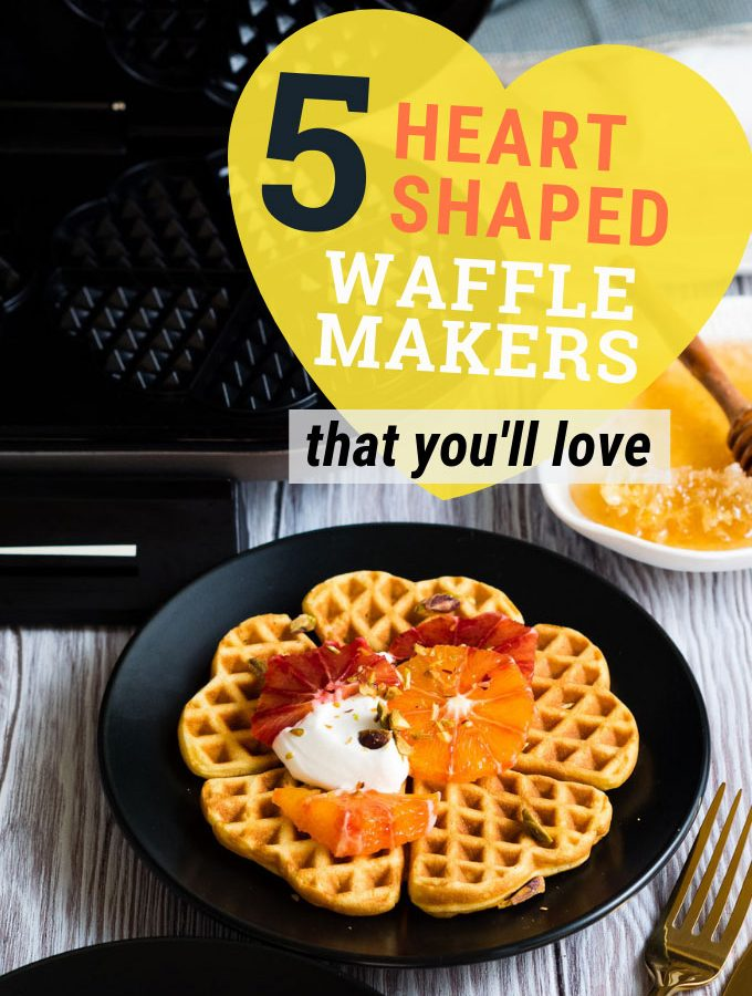 Best Heart Waffle Makers | The Worktop