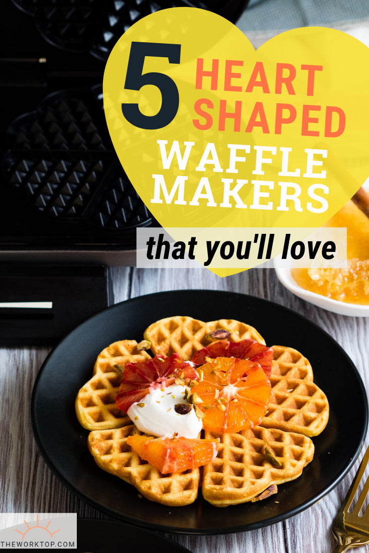Best Heart Shaped Waffle Makers | The Worktop