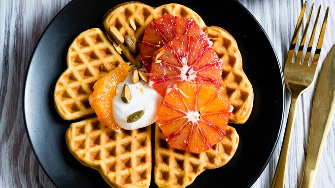 Norwegian Waffles Recipe | The Worktop