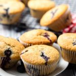 Vegan Blueberry Muffins | The Worktop