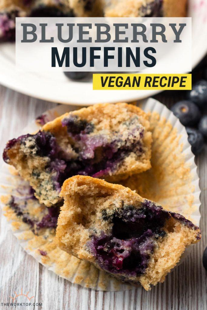 Vegan Blueberry Muffins Recipe | The Worktop