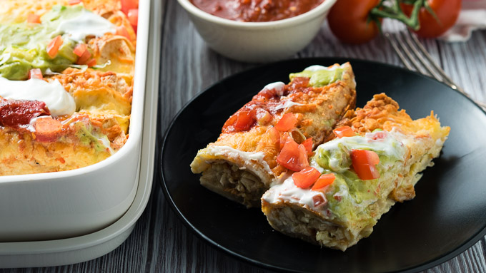 Breakfast Enchilada Rotisserie Chicken | The Worktop