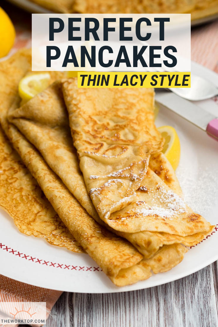 Thin Pancakes Recipe - British Pancakes, Crepes | The Worktop