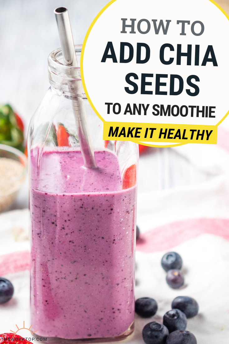 Chia Seed Smoothie Recipe | The Worktop