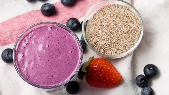 Chia Seed Smoothie | The Worktop
