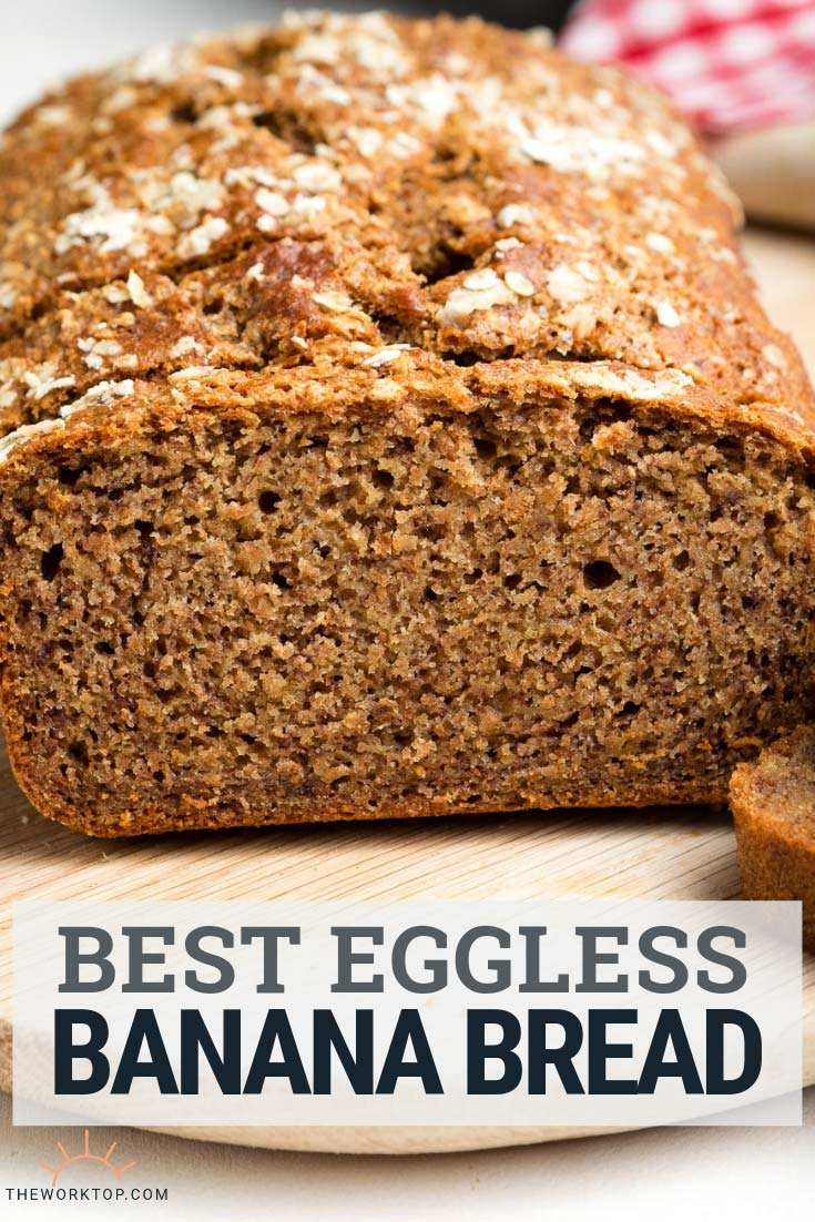 Eggless Banana Bread (adaptable for vegan) | The Worktop