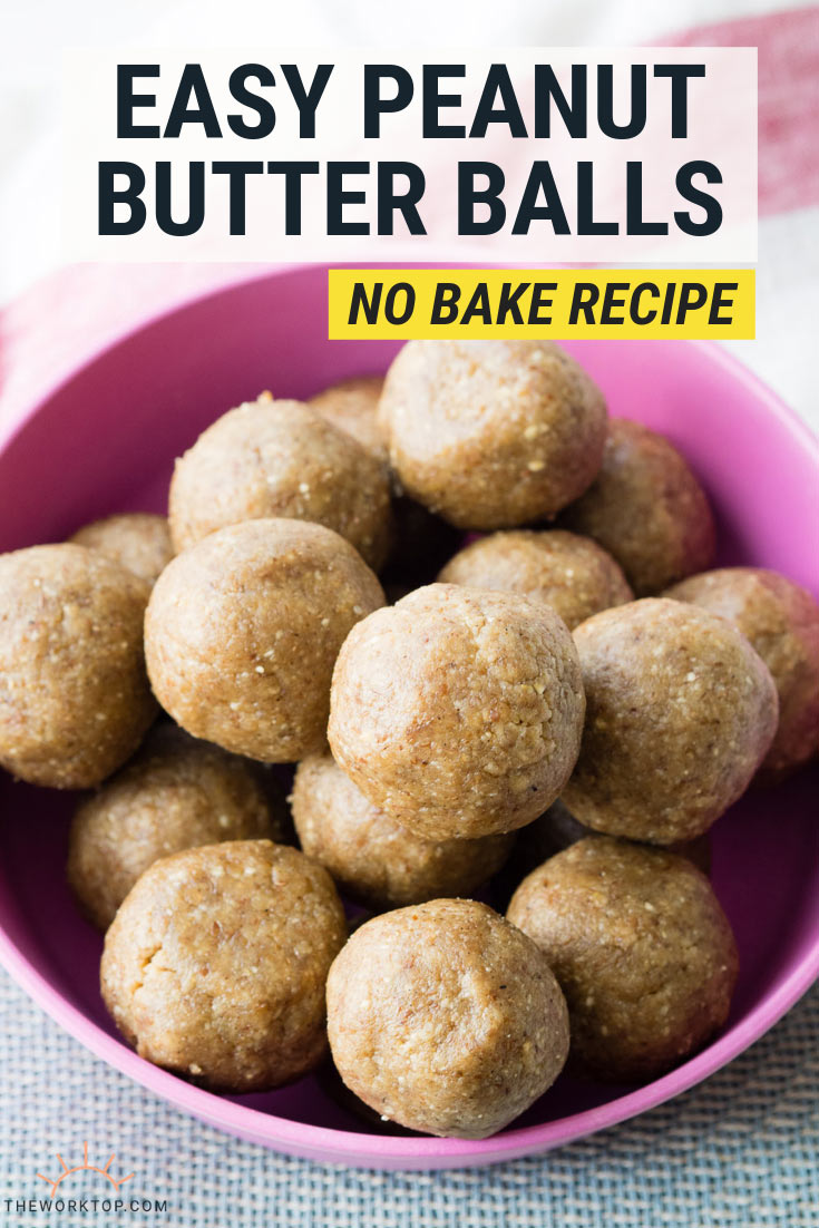 Easy Peanut Butter Balls - No Bake Recipe | The Worktop