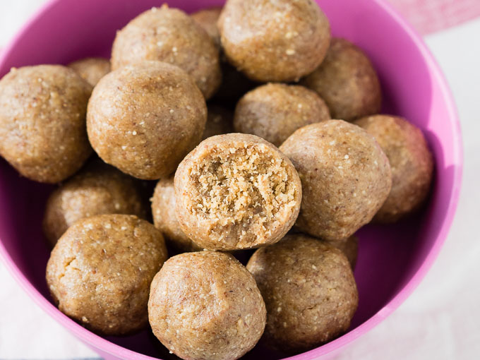 Healthy Peanut Butter Balls - Easy Recipe | The Worktop
