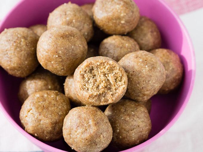 Healthy Peanut Butter Balls - Easy Recipe   The Worktop
