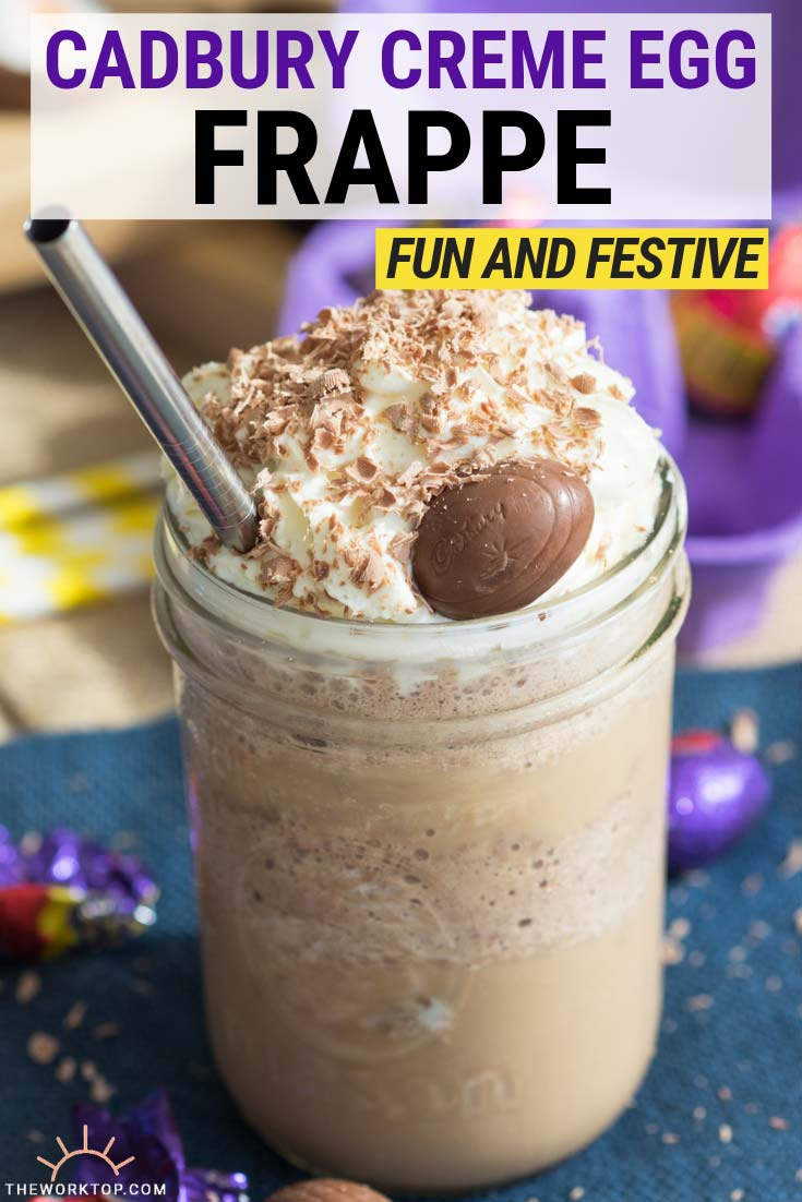 Cadbury Creme Egg Frappe | The Worktop