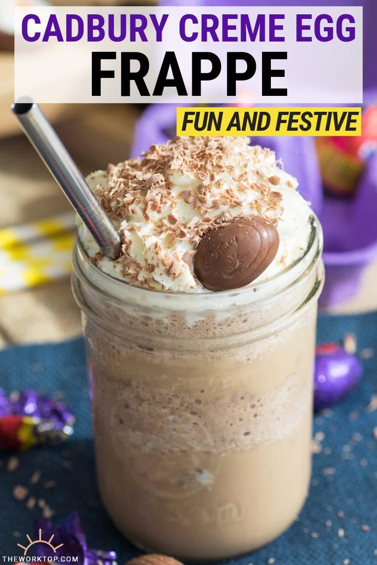 Cadbury Creme Egg Frappe   The Worktop