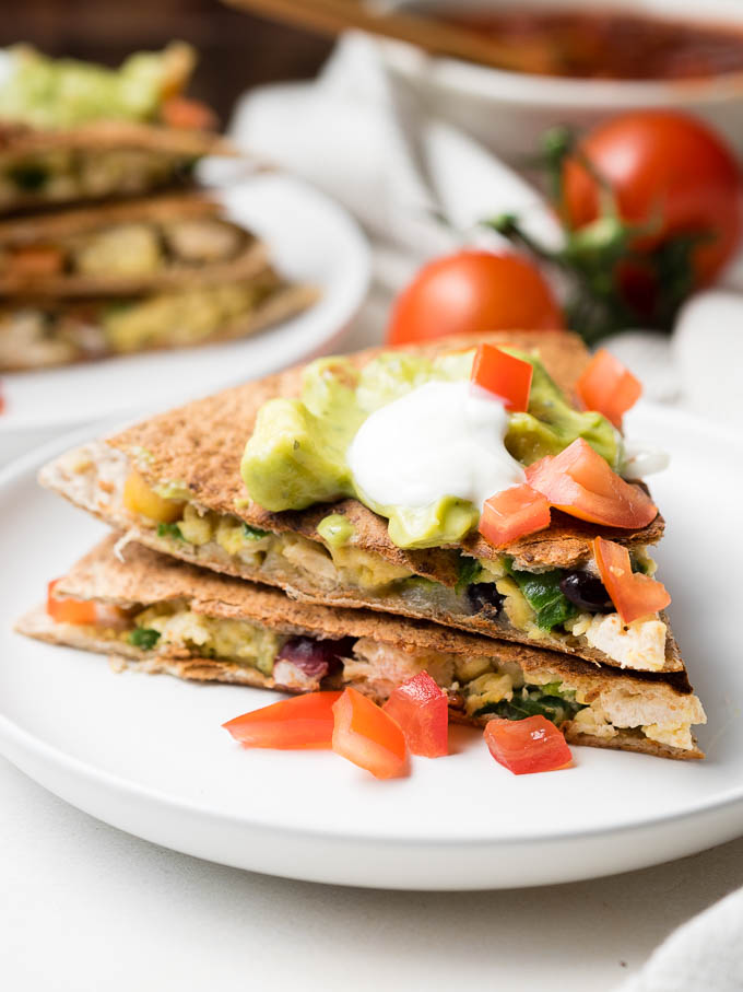 Healthy Breakfast Quesadilla - Best 15+ Weekday Breakfast Recipes | The Worktop