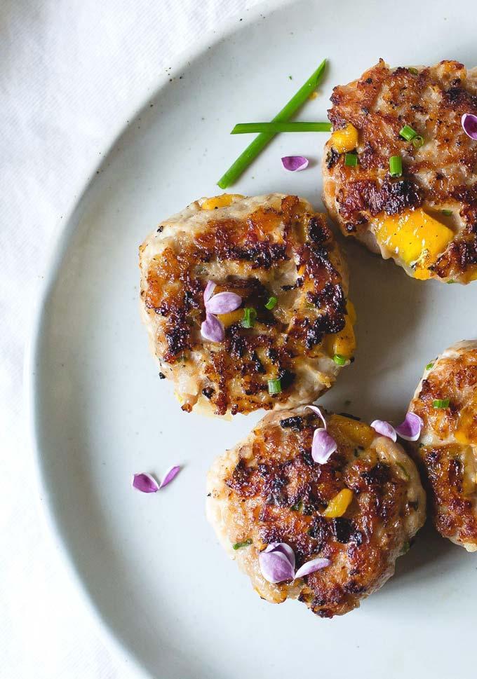 Mango Chicken Breakfast Sausage - Chicken Breakfast Recipes | The Worktop