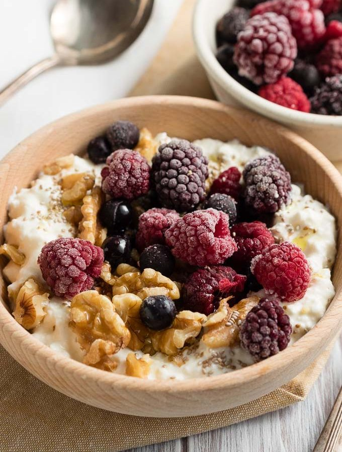 Cottage Cheese Breakfast Bowl | The Worktop