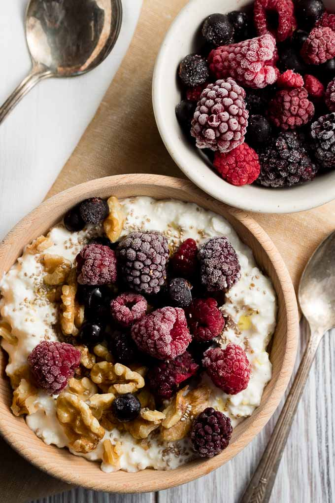 Cottage Cheese Breakfast Bowl - Best 15+ Weekday Breakfast Ideas | The Worktop