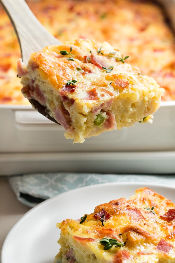 Ham and Cheese Casserole - Breakfast Recipe | The Worktop