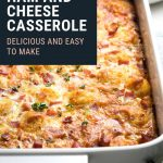 Ham and Cheese Casserole Recipe | The Worktop