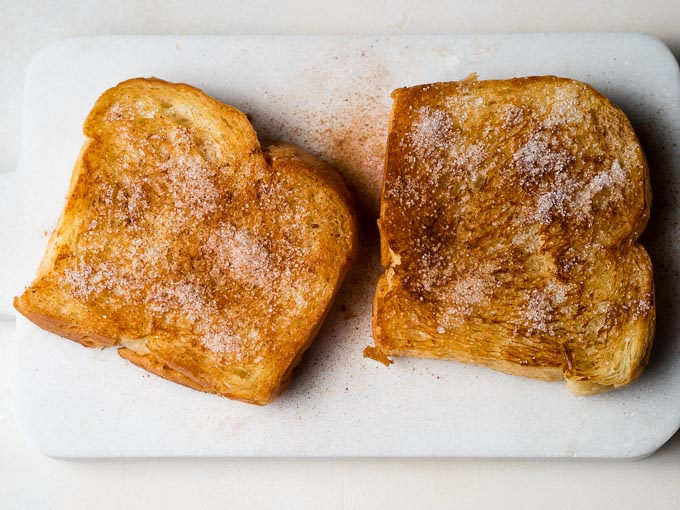 Cinnamon sugar bread for milk toast recipe | The Worktop