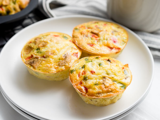 Baked Eggs in a Muffin Pan | The Worktop