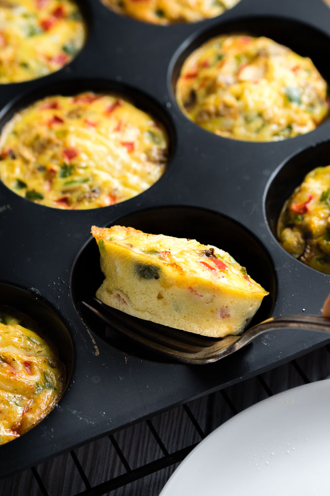 Breakfast Egg Muffins in Pan - Best Weekday Breakfast Ideas | The Worktop