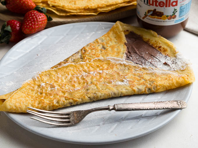 Best Nutella Crepes | The Worktop