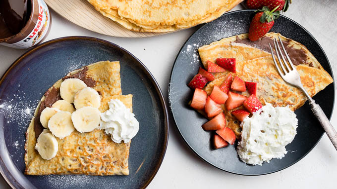 Delicious Nutella Crepes Recipe Easy To Make The Worktop