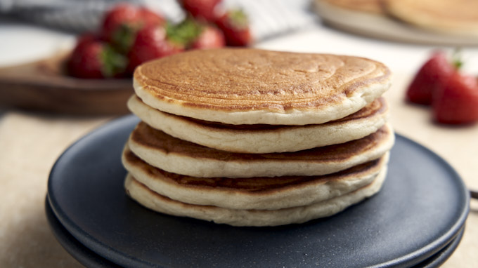 Pancakes Without Eggs Recipe | The Worktop