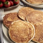 Eggless Pancakes - plated | The Worktop
