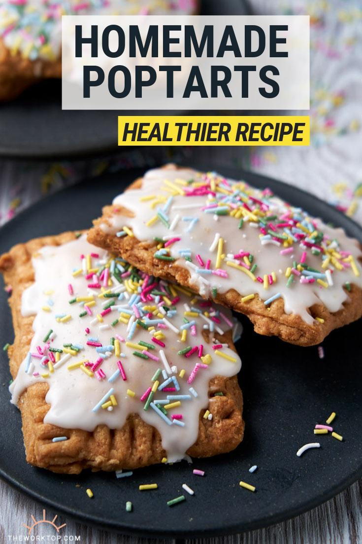 Homemade Pop Tart Recipe - a healthier alternative to store bought | The Worktop