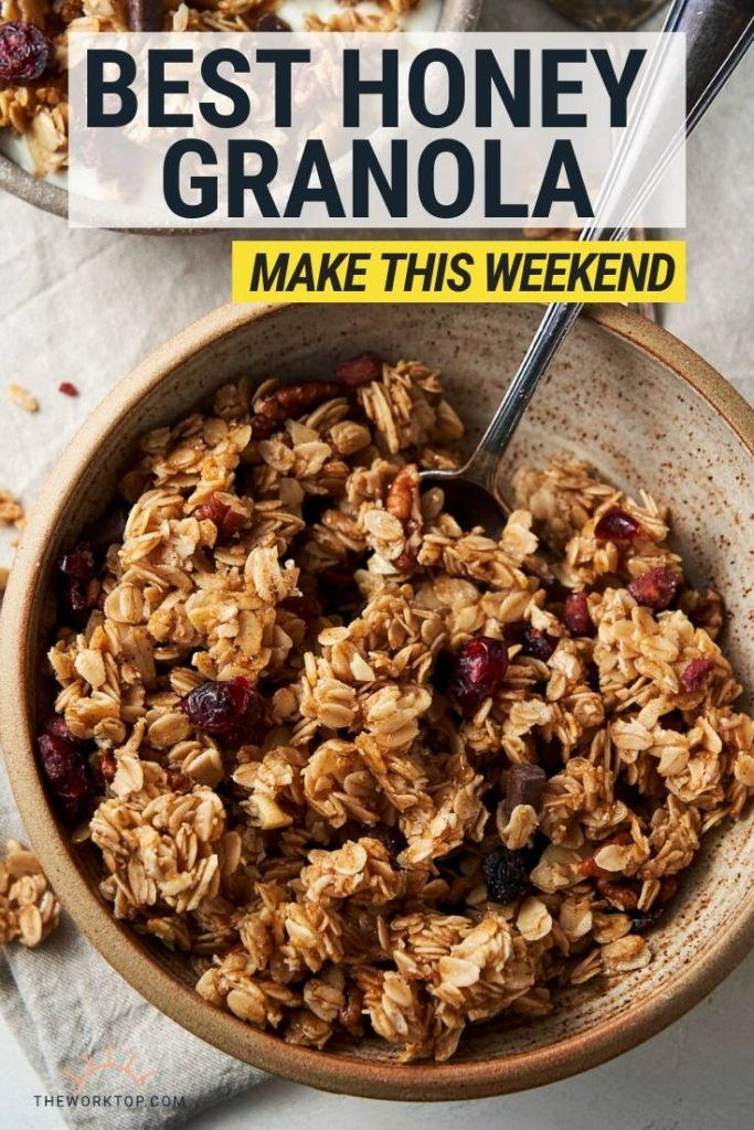 Honey Granola - with text | The Worktop