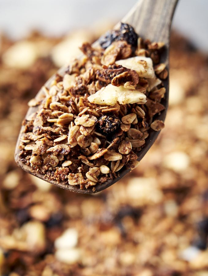Nut Free Granola - homemade just out of the oven | The Worktop