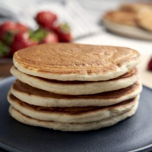 Pancakes Without Eggs - Stacked | The Worktop